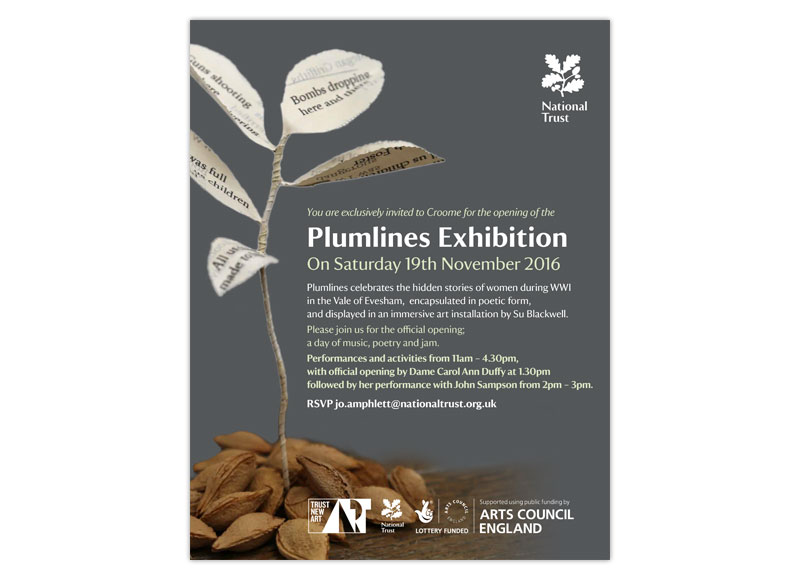 NT Croome Plumlines Invitation